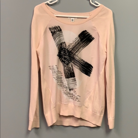Pink Calvin Klein Sweater Women's Small